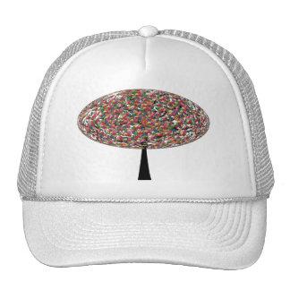 Jelly Bean Tree Mesh Hats