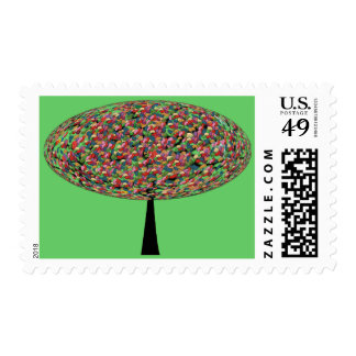 Jelly Bean Tree Stamp