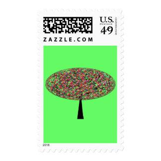 Jelly Bean Tree Stamp