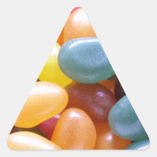 Jelly Bean Triangle Sticker