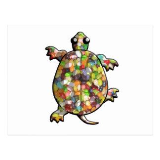 Jelly Bean Turtles Postcard