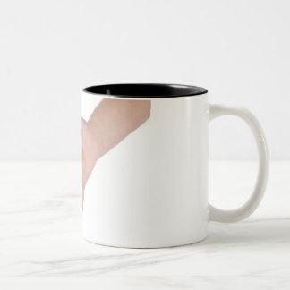 Jelly bean Two-Tone coffee mug