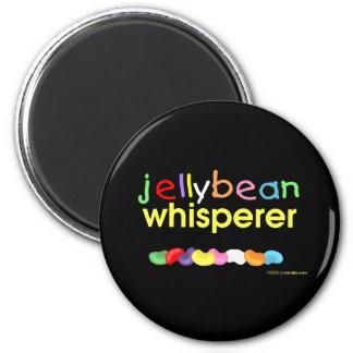 Jelly Bean Whisperer 2 Inch Round Magnet