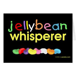 Jelly Bean Whisperer Card