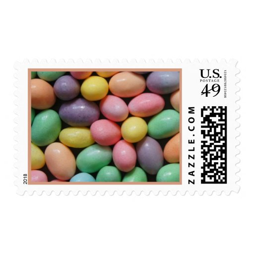 Jelly Beans 10 Postage Stamp