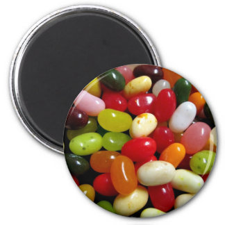 JELLY BEANS 2 INCH ROUND MAGNET