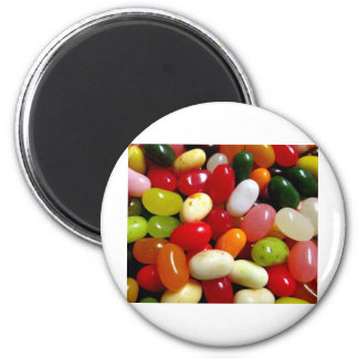 JELLY BEANS!! 2 INCH ROUND MAGNET