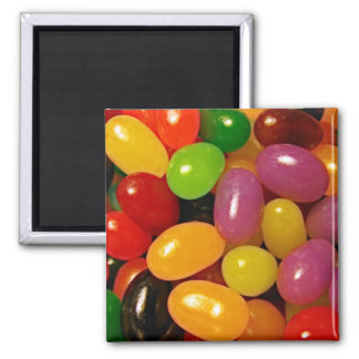 Jelly Beans and Easter Holidays 2 Inch Square Magnet