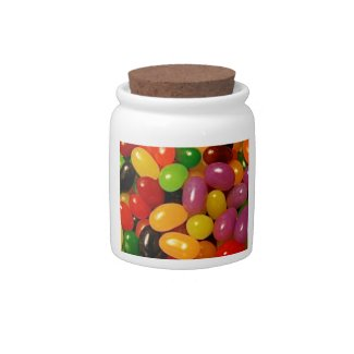Jelly Beans and Easter Holidays Candy Jars