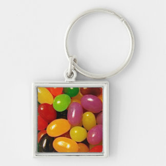 Jelly Beans and Easter Holidays Keychain