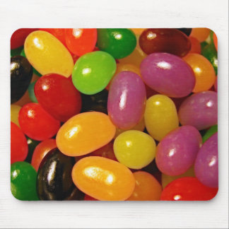 Jelly Beans and Easter Holidays Mouse Pad