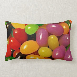 Jelly Beans and Easter Holidays Throw Pillow