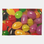 Jelly Beans and Easter Holidays Towel