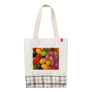 Jelly Beans and Easter Zazzle HEART Tote Bag