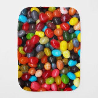 Jelly Beans Baby Burp Cloth