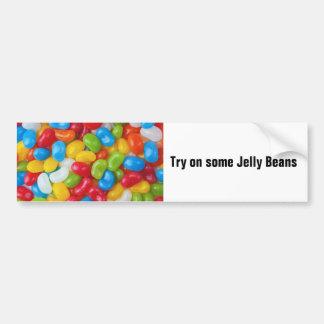 Jelly Beans Bumper Sticker