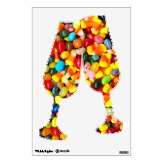 Jelly Beans & Candy Corn Wall Decal