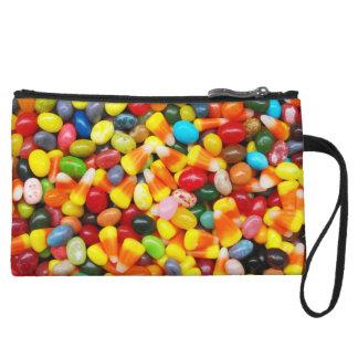 Jelly Beans & Candy Corn Wristlet