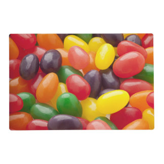 Jelly Beans Candy Placemat Laminated Placemat