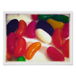 JELLY BEAN'S CANDY POSTER