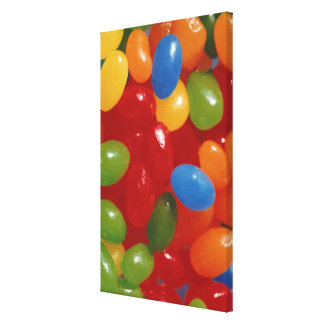 jelly beans canvas print