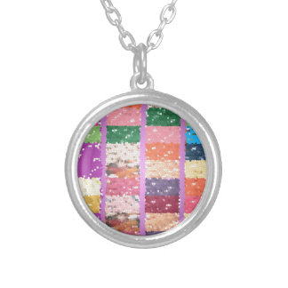 JELLY BEANS Checkered Artistic Graphic Sweets Custom Jewelry