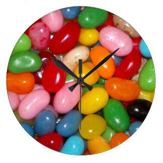 Jelly Beans Round Wallclocks