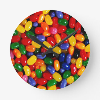 Jelly Beans Round Wall Clock