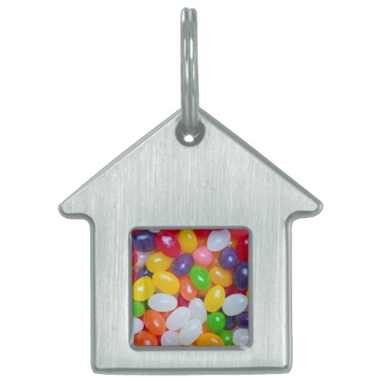 Jelly Beans Easter Jellybean Template Pet Name Tag
