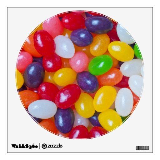 Jelly Beans Easter Jellybean Template Wall Sticker