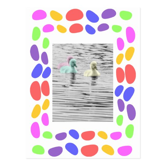 Jelly Beans Frame Card