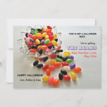 Jelly Beans Halloween Pregnancy Announcement