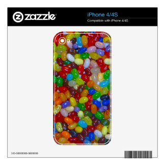 Jelly Beans iPhone 4 Decals
