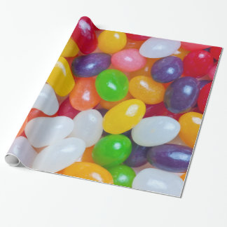 Jelly Beans - Jellybeans Easter Bean Background Gift Wrap Paper