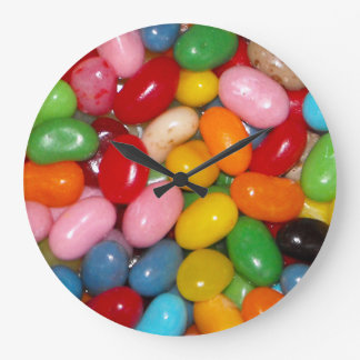 Jelly Beans Large Clock