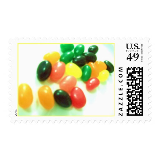 jelly beans Party stamp