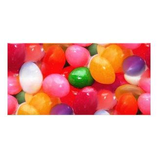 jelly_beans customized photo card