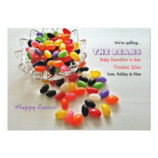 Jelly Beans Pregnancy Announcement