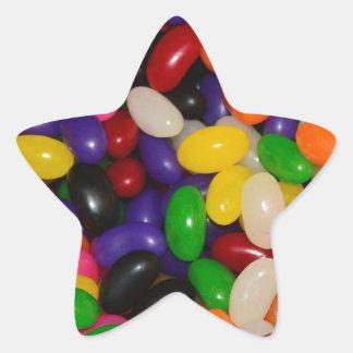 Jelly Beans Star Sticker