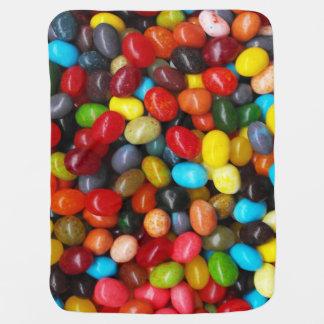 Jelly Beans Stroller Blanket