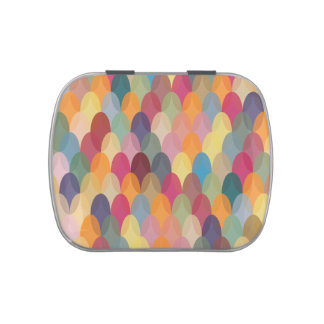 Jelly Belly™ Giant Candy Tin with Colorful Pattern