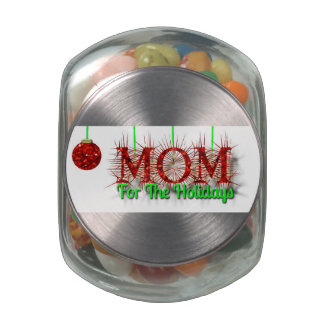 Jelly Belly™ Glass Jar with Assorted Jelly Beans