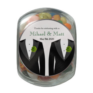 Wedding Favors Candy Jars Wedding Favors Candy Dishes Zazzle