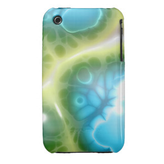 Jelly Blue Green Case-Mate iPhone 3 Case