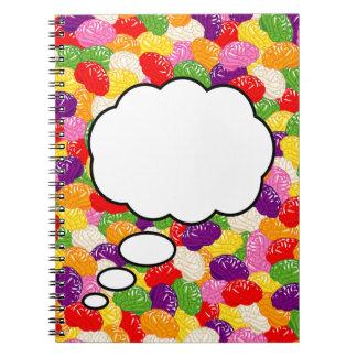 Jelly Brains Brainstorming Notebook