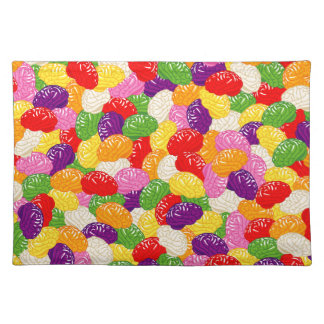 Jelly Brains Cloth Placemat