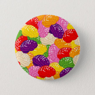 Jelly Brains Pinback Button