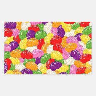 Jelly Brains Rectangular Sticker
