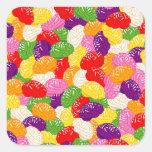 Jelly Brains Square Sticker
