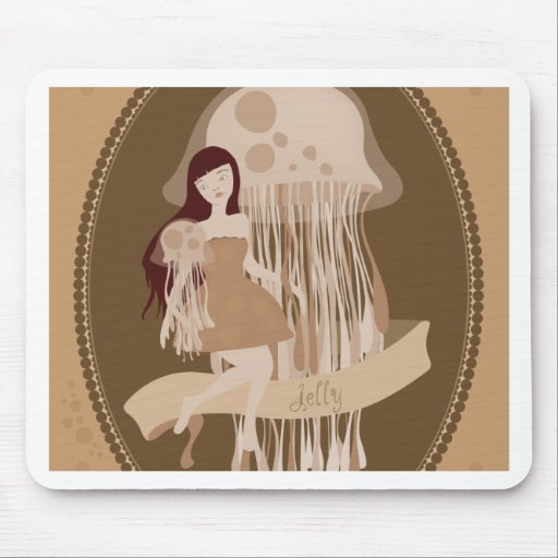 jelly_brown mouse pad